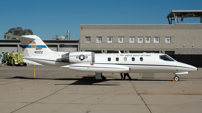 84-0122 - Gates Learjet C-21A - United States - US Air Force (USAF)