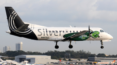 N417XJ - Saab 340B+ - Silver Airways