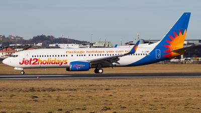 G-JZBP - Boeing 737-8MG - Jet2.com