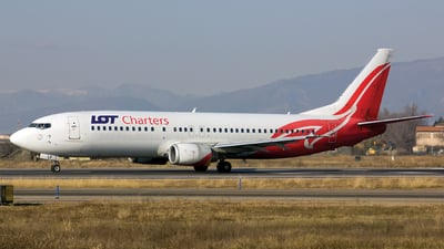 SP-LLF - Boeing 737-45D - LOT Charters
