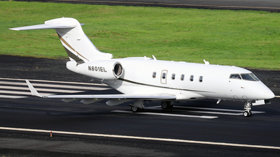 N801EL - Bombardier BD-100-1A10 Challenger 300 - Private
