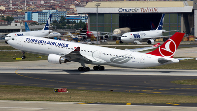 TC-LNF - Airbus A330-303 - Turkish Airlines