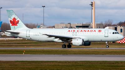 A picture of CFDCA - Airbus A320211 - Air Canada - © Hongyu Wang