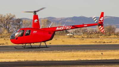 A picture of N497SU - Robinson R44 Raven II - [11441] - © David Lee