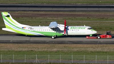 F-WWED - ATR 72-212A(600) - Binter Canarias