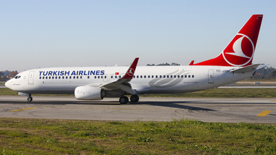 TC-JVN - Boeing 737-8F2 - Turkish Airlines