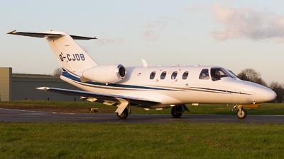 A picture of GCJDB - Cessna 525 CitationJet CJ1+ - [5250648] - © Tim Lowe