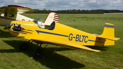 A picture of GBLTC - Druine D.31A Turbulent - [PFA 04810964] - © James Mepsted