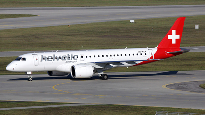 A picture of HBAZA - Embraer E190E2 - Helvetic Airways - © Stefan Mayer