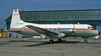 XT-MAN - Hawker Siddeley HS-748 Series 2A - Burkina Faso - Government