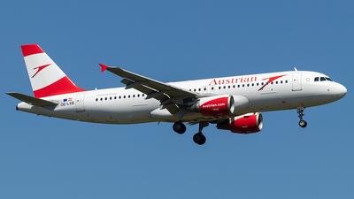 OE-LXB - Airbus A320-216 - Austrian Airlines
