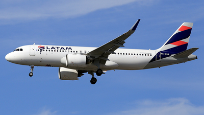 PR-XBB - Airbus A320-273N - LATAM Airlines