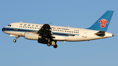 B-6021 - Airbus A319-132 - China Southern Airlines
