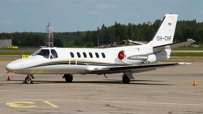 OH-CHF - Cessna 550 Citation II - Private