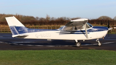 G-BDZD - Reims-Cessna F172M Skyhawk - Private