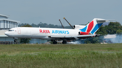 9M-TGH - Boeing 727-247(Adv)(F) - Raya Airways