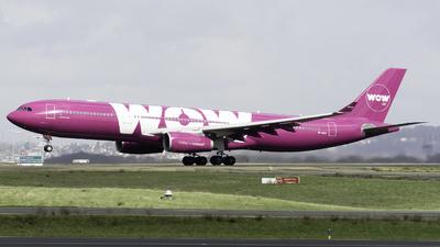 TF-GAY - Airbus A330-343 - WOW Air