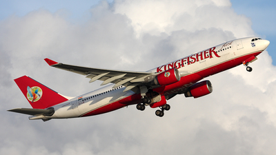 VT-VJK - Airbus A330-223 - Kingfisher Airlines