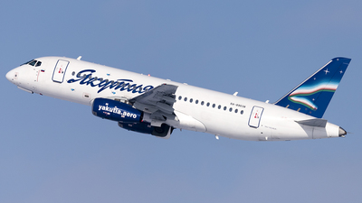 A picture of RA89038 - Sukhoi SuperJet 10095LR - Yakutia Airlines - © Faustasyan
