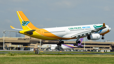 RP-C3345 - Airbus A330-343 - Cebu Pacific Air