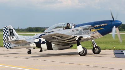 N151W - North American P-51D Mustang - Private