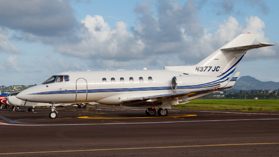 N377JC - Hawker Beechcraft 800XP - Private
