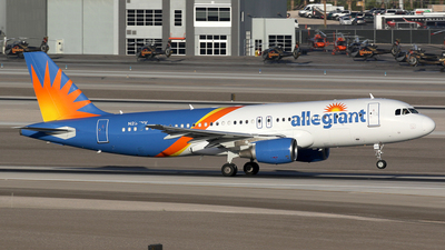 N235NV - Airbus A320-214 - Allegiant Air