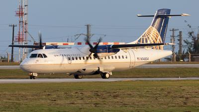 N14834 - ATR 42-320 - United Express(Cape Air)