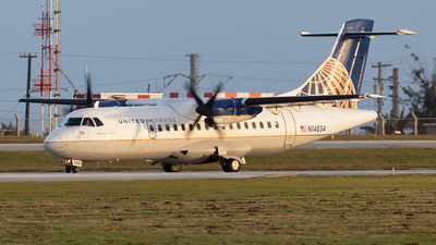 A picture of N14834 - ATR 42320 - [0193] - © Tony Kao