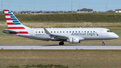 A picture of N253NN - Embraer E175LR - American Airlines - © zhangmx969