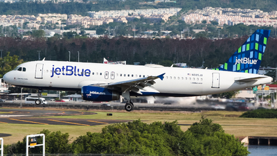 N585JB - Airbus A320-232 - jetBlue Airways