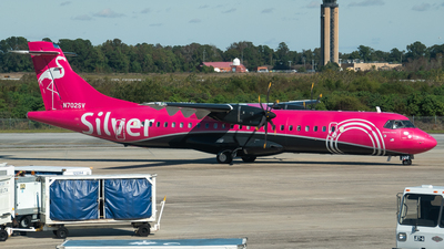 A picture of N702SV - ATR 72600 - Silver Airways - © Devin | Charleston Spotter