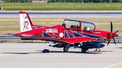 A picture of HBHWK -  - [] - © Enzo Gattullo - Plane Spotters Bari