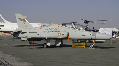 506 - British Aerospace Hawk Mk.127 Lead-In Fighter - Bahrain - Air Force