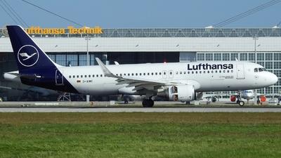 D-AIWC - Airbus A320-214 - Lufthansa