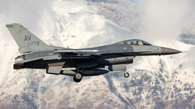90-0772 - Lockheed Martin F-16CG Fighting Falcon - United States - US Air Force (USAF)