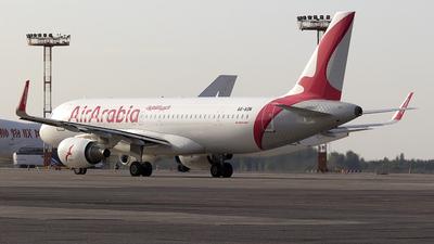 A6-AOM - Airbus A320-214 - Air Arabia