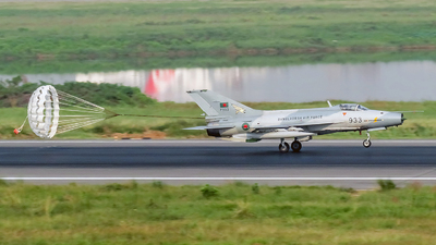 F933 - Chengdu F-7BG - Bangladesh - Air Force