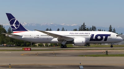 SP-LRG - Boeing 787-8 Dreamliner - LOT Polish Airlines