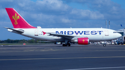 SU-MWB - Airbus A310-304 - Midwest Airlines