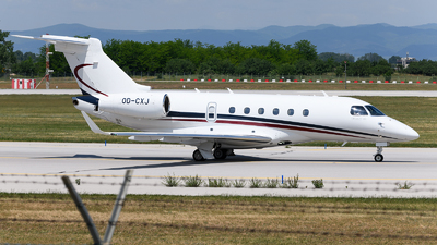 OD-CXJ - Embraer EMB-550 Legacy 500 - Middle East Airlines (MEA)