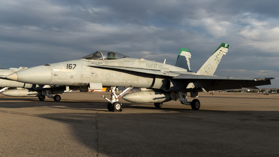 164242 - McDonnell Douglas F/A-18C Hornet - United States - US Marine Corps (USMC)