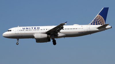 N417UA - Airbus A320-232 - United Airlines