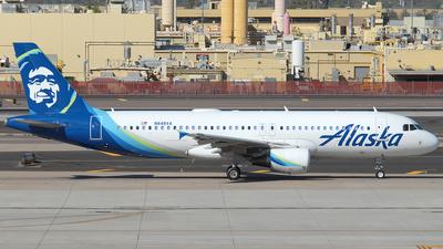 A picture of N848VA - Airbus A320214 - Alaska Airlines - © Jason Whitebird