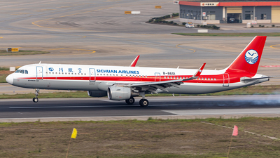 B-8601 - Airbus A321-211 - Sichuan Airlines
