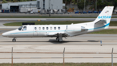 N430AM - Cessna 560 Citation V - Private