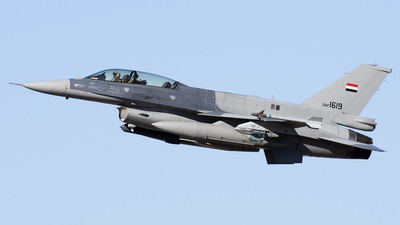 1619 - Lockheed Martin F-16D Fighting Falcon - Iraq - Air Force