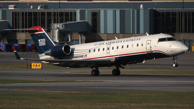 N401AW - Bombardier CRJ-200LR - US Airways Express (Air Wisconsin)