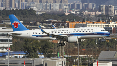 A picture of B301A - Airbus A320271N - China Southern Airlines - © zjs