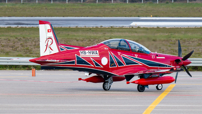 HB-HWA - Pilatus PC-21 - Pilatus Aircraft